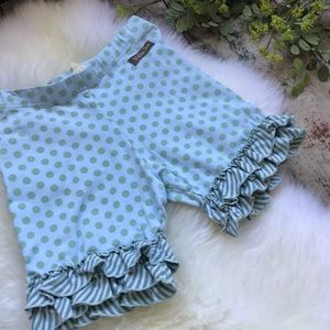 Matilda Jane Blue Shorties Sz 8